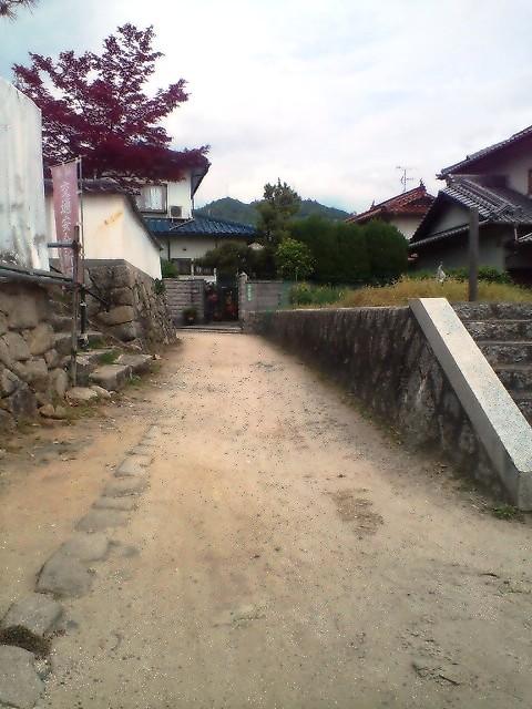 道隆寺前道路