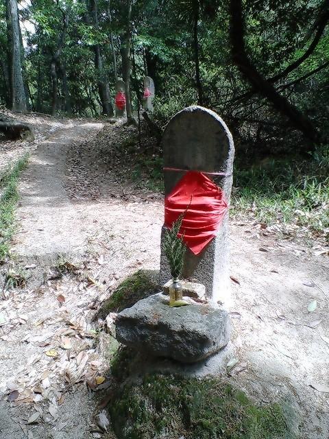 中国自然歩道のお地蔵さん